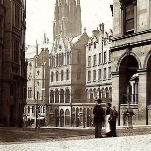 Historical view of Edinburgh Quaker Meeting House