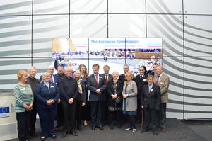 ACTS delegation at the European Commission, April 2016